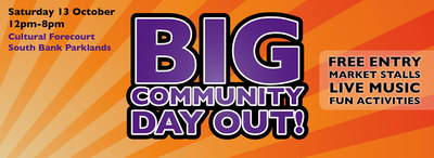 Big Community Day Out, Endeavour Foundation, South Bank