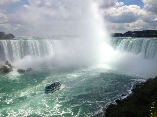 Maid of the Mist boat, Niagara Falls