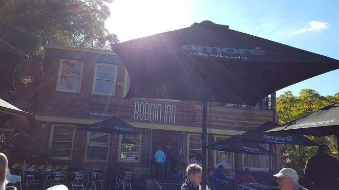 Bobbin Head, Bobbin Inn Cafe, brunch, BBQ facilities, picnic spots, Ku-ring-gai Chase National Park, NSW National Parks, big breakfast, picnic grounds, bushland, bushwalks, riverside, water views, cafe, historic