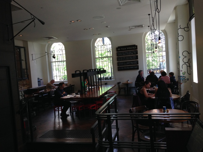 Cafe, Lunch, Library