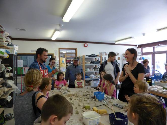 canberra potters society, school holiday programs, ACT, july,