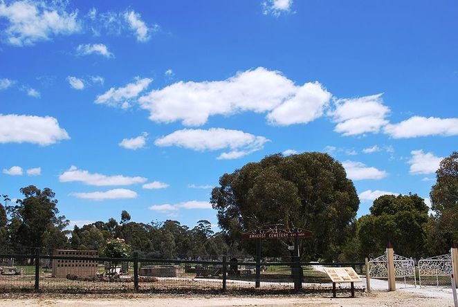 Cemetery, Amherst, Goldfields, Maryborough
