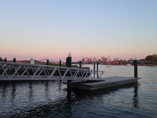 Clarkes Point Reserve, Woolwich