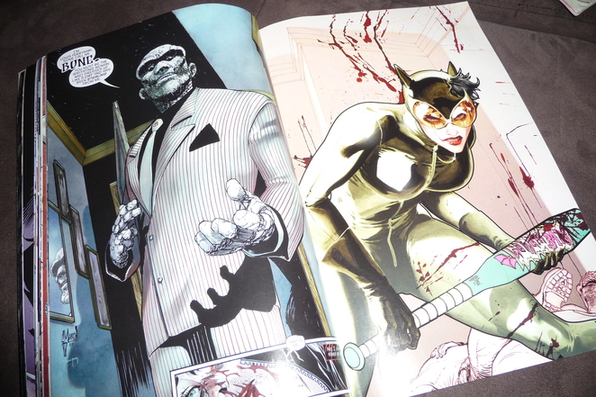 comics, Catwoman, the new 52