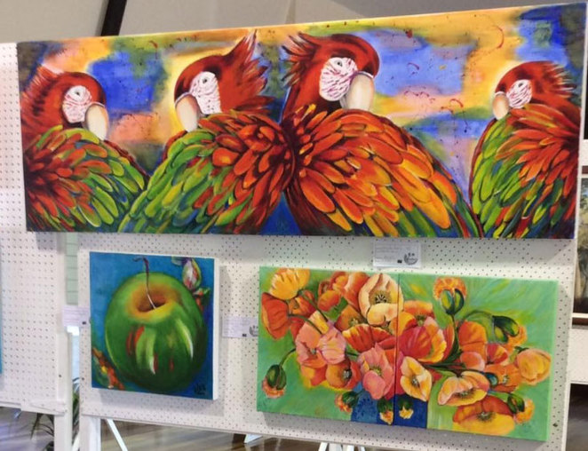 Coolum Art Group, Coolum Civic Centre, Easter, Art Exhibition, Sunshine Coast,