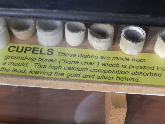 cupels, assay equipment, assay museum, charters towers, mining history, gold analysis, gold mining in australia, hisory of gold mining,