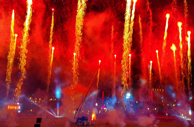 Ekka has one of the most innovative and fireworks shows