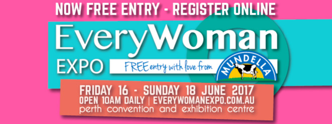 EveryWoman Expo 2017, Perth Women's Events, Perth Expos 2017, Perth Convention and Exhibition Centre
