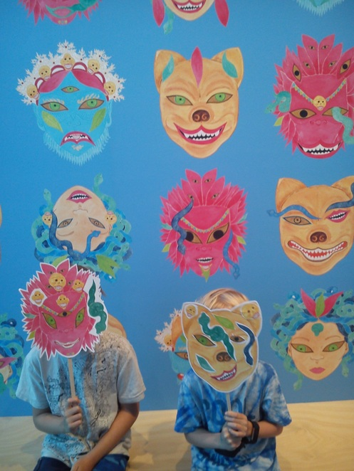GoMA Brisbane, whats on for kids at GoMA, kids art activities at GoMA