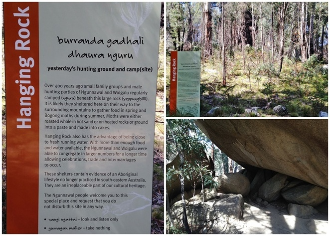 hanging rock walk, tidbinbilla, canberra, ACT, indigenous history, culture, historical sites, places to visit, ACT,