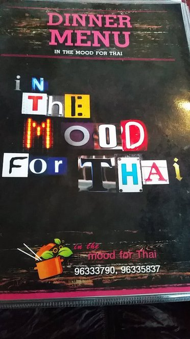 In the mood for thai