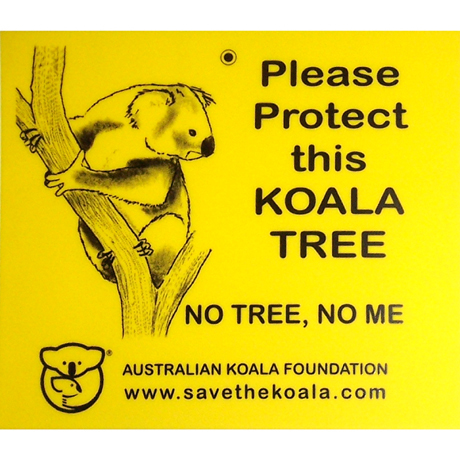 koala, gum trees, gifts. Save the Koala