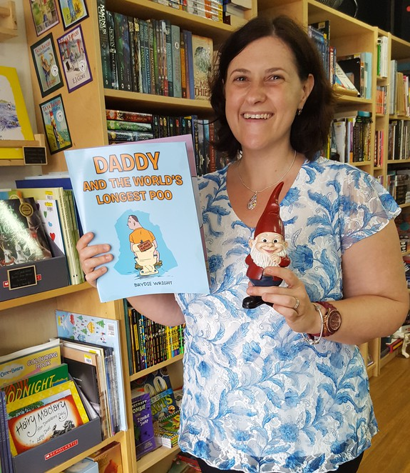 Little Gnome, Gnome Addict, Little Gnome Bookshop, Coffee shop, Cafe, Independent Bookstore, indie bookshop, indie authors, self-published books, Montville Coffee, Wynnum, Brisbane, Daddy and the World's Longest Poo, Bel Ellis