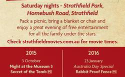 Free Outdoor Movies At Strathfield