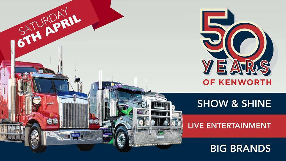 50 Years of Kenworth Truck Show - Adelaide