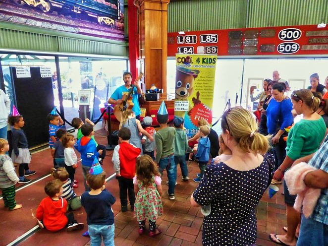 National Railway Museum, Family Fun Fair, school holidays, july, port adelaide, railway museum, museum, fun for kids
