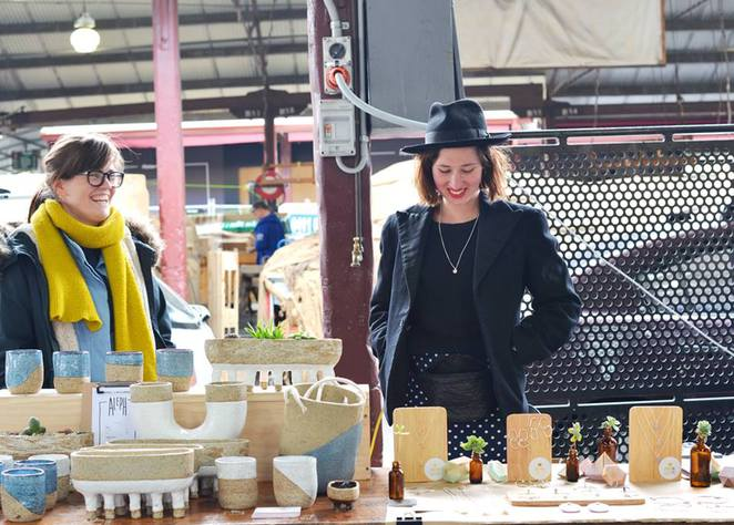 new craft at queen victoria market