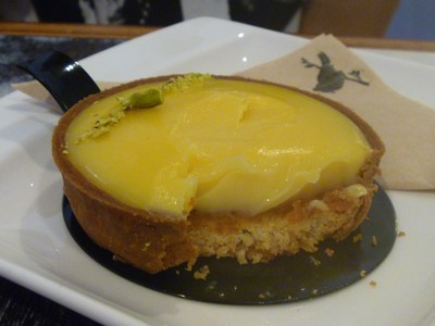 Lemont tart at By Blackbird King William Rd Coffee and dessert cafe