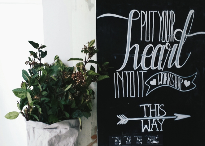 put your heart into it, event workshops, melbourne