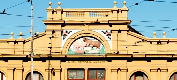 queen victoria market march