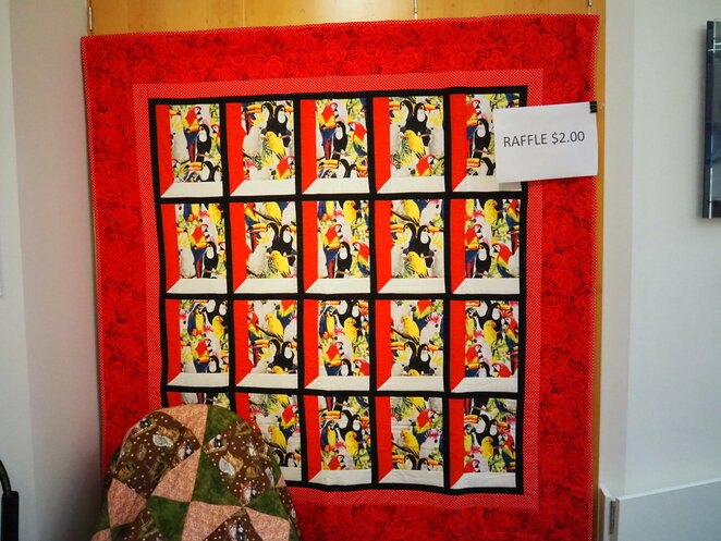raffle, tickets, Hazel St Quilters, Redcliffe