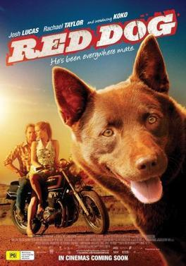 red dog, Red Dog movie, movies about dogs, films about dogs, movies for dog lovers, films for dog lovers, Aussie films