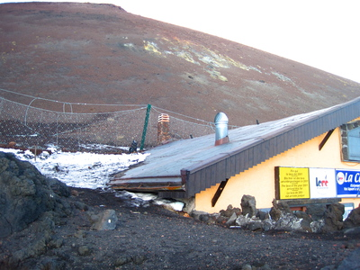 Mt Etna Moutain Refuge cafe (c) JP Mundy 2013