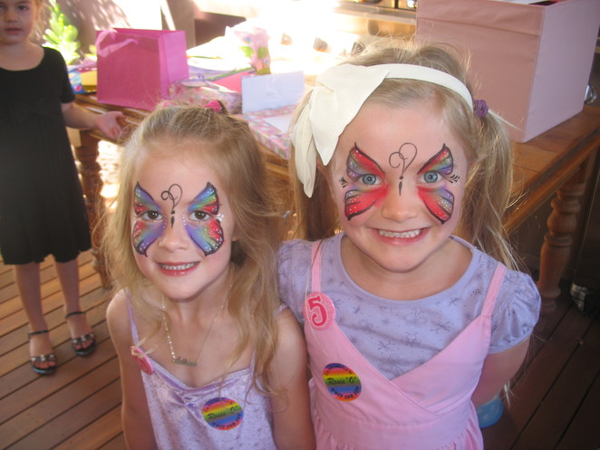 Rosie O Face painting