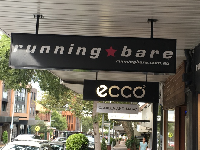 Running Bear fitness and casual wear mosman store impressive colourful leisure wear .