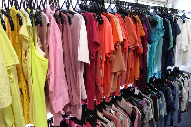 secondhand clothing, secondhand clothes, women's clothing, adult clothing, thrift shop, charity store, women's tops, women, clothes