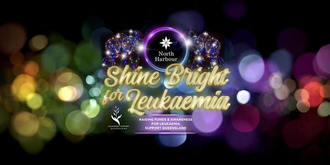 shine bright for leukaemia, fun walk, heritage trail north harbour, leukaemia support queensland inc, north harbour heritage park, food and drink, sausage sizzle, fundraiser, charity, cuupcakes, pizza, tea and coffee, games and activities, market stalls, live entertainment