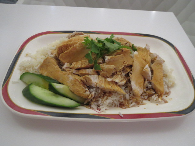 Singapore Delights, Hainan Chicken Rice, Adelaide