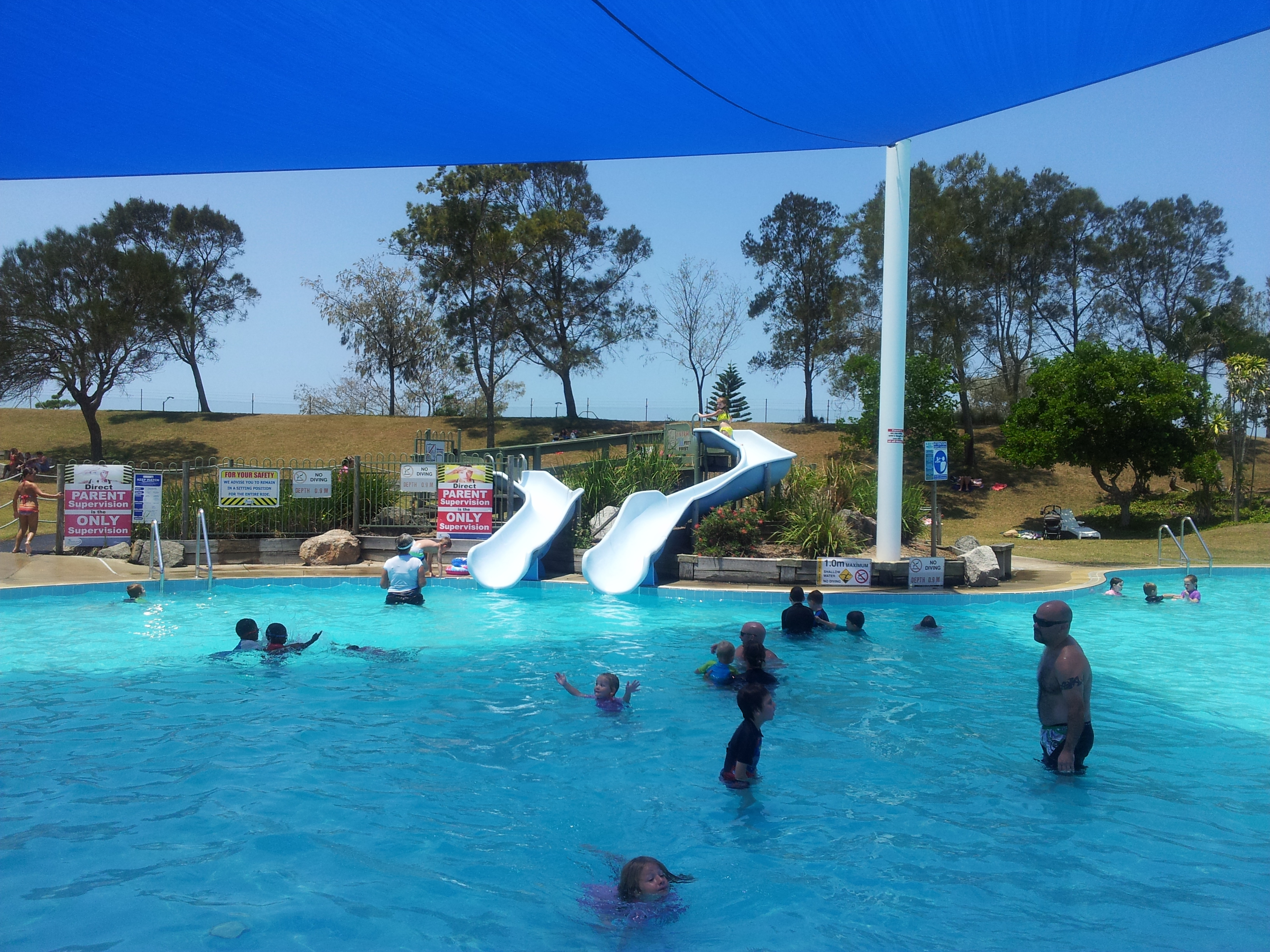 25 Perfect Public Swimming Pools With Slides