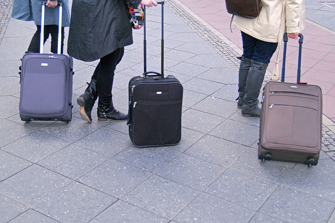 Suitcase, travel, luggage, how to save on airfares
