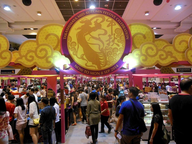 Takashimaya Square Mooncake Fair