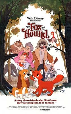 The Fox and the Hound, Disney movies, cartoons, movies about dogs, movies for dog lovers