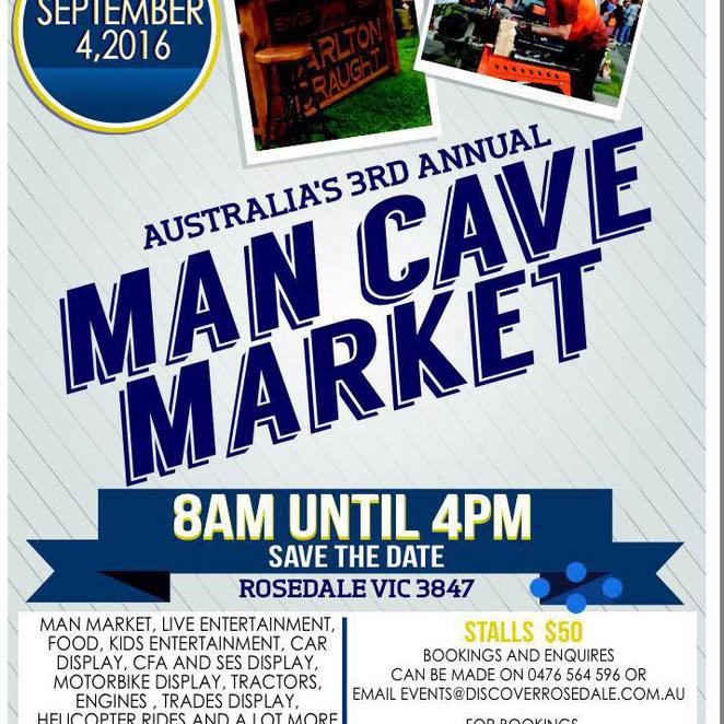 Man Cave Melbourne : The man cave market at rosedale melbourne
