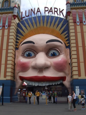 Things to do in Sydney with Kids - Luna Park