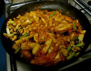 Tofu with Chilli Relish