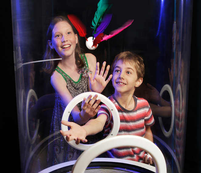 Wind Tubes, Ipswich Art Gallery, School Holidays, Whats on in Brisbane, Free Family Activities