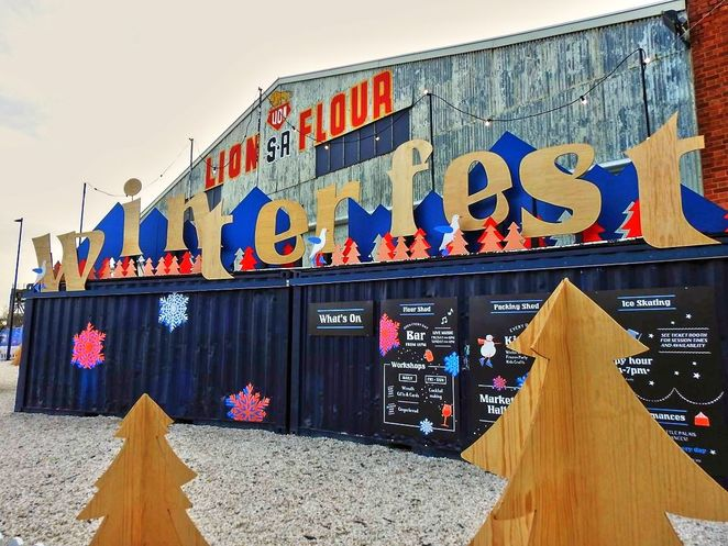 winterfest, winterfest 2018, winterfest festival, port adelaide, things to do, free, adelaide, kids, ice skating, harts mill packing shed