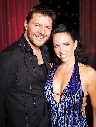 Alana Patience and Manu Feildel