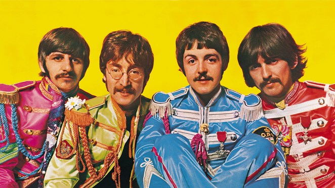 beatles, sgt, peppers, lonely, hearts, club, band