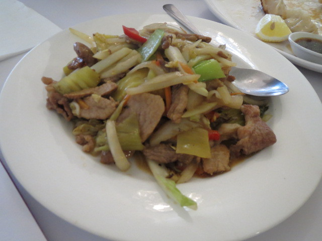 Bei-Fang Chinese Restaurant, Braised Pork and Pickled Cabbage, Adelaide