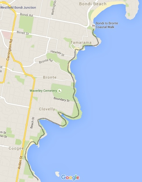 Bondi to Coogee or the reverse