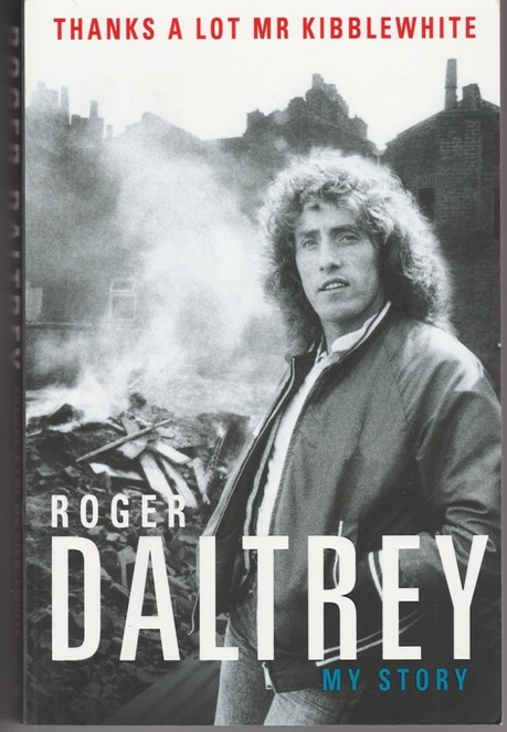 book, roger daltry, cover