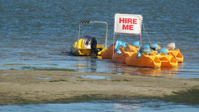 Bribie Hire Hut and Tours, Bribie Island, Bongaree, Zegways, Segways, Electric Bikes, Paddle Boats, Surrey Bikes, Kayaks, Stand up Paddle Boards