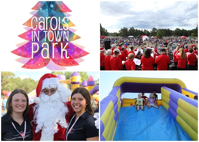carols in town park, canberra, tuggeranong town park, lake tuggeranong, christmas events, ACT, greenway, christmas carols, kids, free, school holidays,