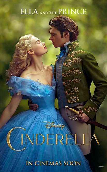 Cinderella, Disney, Lily James, Richard Madden