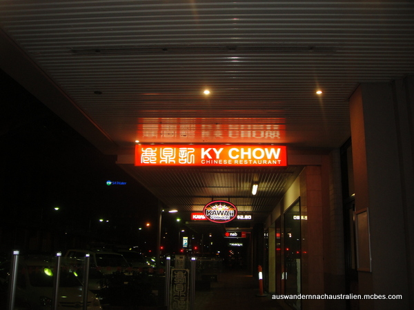 Ky Chow Restaurant Adelaide